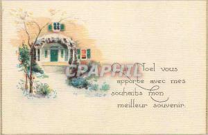 Moderne Karte Que Noel vous Apporte avec mes Souhaits mon Meilleur Souvenir