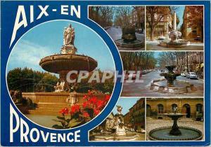 Moderne Karte Aix en Provence la Cite du Roy Rene