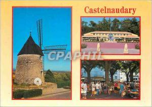Moderne Karte Castelnaudary (Aude)