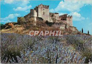 Moderne Karte Greoux les Bains (Alpes de Haute Provence) Tourisme Thermalisme Climatisme Ruines du Chateau des