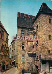 Moderne Karte Sarlat en Perigord (Dordogne) Hotel Plamon XIVe Siecle Denomme Egalement Maison des Consuls