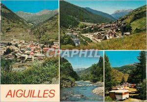 Moderne Karte Aiguilles (Alt 1472 m) Le Queyras Les Hautes Alpes