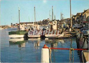 Moderne Karte Le Croisic Port de Peche la Cote d'Amour Bateaux de peche