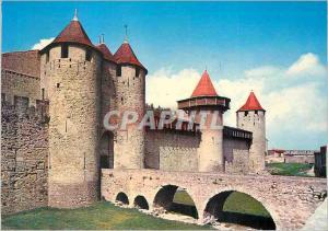 Moderne Karte La Cite de Carcassonne (Aude) Entree du Chateau Comtal