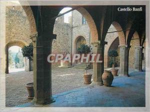 Moderne Karte Castello Banfi Poggio alle Mura Montalcino