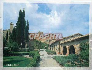 Moderne Karte Castello Banfi Montalcino Poggio alle Mura