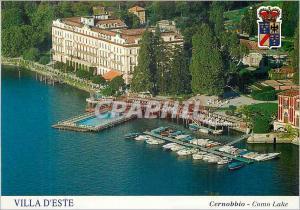 Moderne Karte Villa d'Este Cernobbio Lago di Como