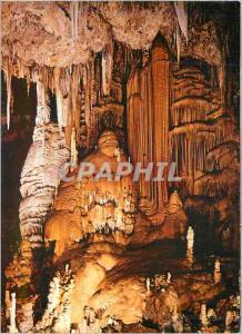 Moderne Karte La Grotte de Clamouse Prix Martel de Speleologie situee a l'Entree des Gorges de l'Herault