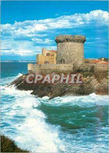Moderne Karte Socoa le Fort