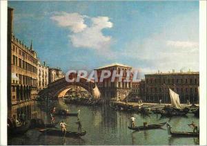 Moderne Karte Paris Musee du Louvre Antonio Canaletto (1697 1768) Le Pont du Rialto