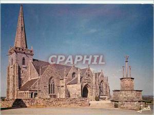 Moderne Karte Runan Couleurs de Bretagne L'Eglise