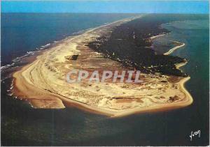 Moderne Karte Cap Ferret (Gironde) Couleurs et Lumiere de France Baie d'Arcachon La Pointe du Cap Ferret a Gau