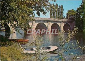 Moderne Karte Marboue (E et L) le Pont sur le Loir