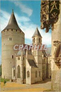 Moderne Karte Chateau de Chateaudun (Eure et Loir) la Chapelle et le Donjon