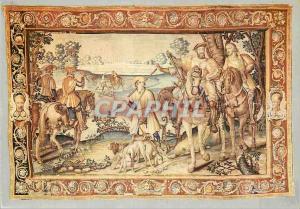 Moderne Karte Chateaudun (Eure et Loir) le Chateau Tapisserie des Ateliers de Paris (Delaplanche) Debut XVIIe
