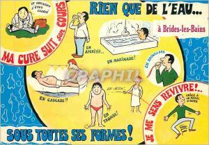 Moderne Karte Rien que de l'Eau a Brides les Bains Sous toutes ses Formes