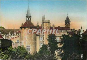 Moderne Karte Chalon sur Saone la Tour Saudon
