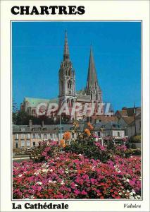 Moderne Karte Les Merveilles de Chartres (Eure et Loir) la Cathedrale (XIIe et XIIIe siecles) la Facade Ouest