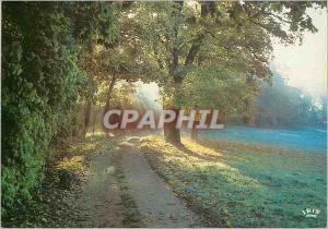 Moderne Karte Clair Regard le Parc au Soleil Levant