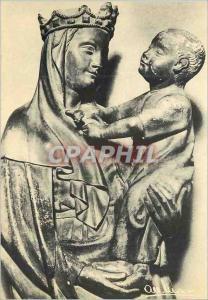 Moderne Karte Riom (Puy de Dome) Eglise Notre Dame du Marthuret la Vierge a l'Oiseau Chef d'Oeuvre du XVe siec