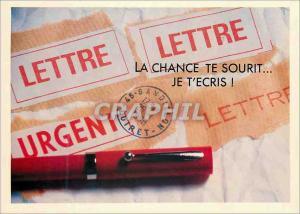 Moderne Karte La Chance te sourit je t'ecris Les Ecrits Restent