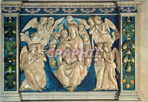 Moderne Karte Firenze Museo Bardini Andrea della Robbia (1435 1525) Madonna con Bambino Ira Angeli Oranti