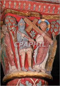 Moderne Karte Issoire (Puy de Dome) Eglise St Austremoine le Portement de Croix