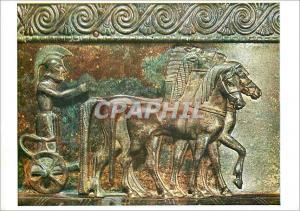Moderne Karte Musee de Chatillon sur Seine Style Grec (fin du VIe s avant Jesus Christ) Vase de Vix Quadrige (