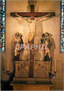 Moderne Karte Colmar Croix du XIVe s provenant l'Ancien Prieure Benedictin St Pierre de Colmar Christ