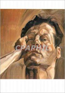 Moderne Karte Whitworth Art Gallery University of Manchester Lucian Freud Tete d'Homme (Portrait de l'Artiste)