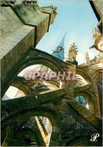 Moderne Karte Prestige le Mont Saint Michel