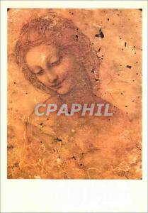 Moderne Karte Milan Castello Sforzesco Leonardo da Vinci Tete de Leda