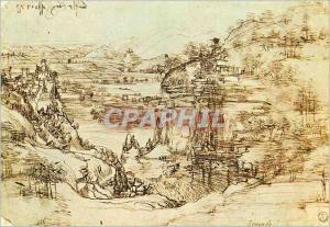 Moderne Karte Firenze Galerie Uffizi Disegni e Stampe Leonardo Paesaggio