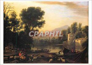 Moderne Karte Paris Grand Palais Exposition Claude Gellee dit Le Lorrain 16 Fevrier 1983 16 Mai 1983 Claude Ge