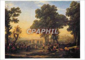 Moderne Karte Paris Musee du Louvre Claude Gellee dit Le Lorrain (1600 1682) La Fete Villageoise