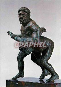 Moderne Karte Paris Musee du Louvre Groupe de Lutteurs Epoque Hellenistique