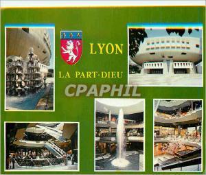 Moderne Karte Lyon (Rhone) La Part Dieu