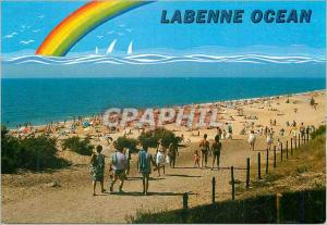 Moderne Karte Labenne Ocean La Plage