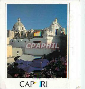 Moderne Karte Capri Chiesa di S Stefano