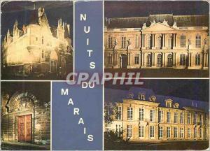 Moderne Karte Sous le Ciel de Paris Nuits du Marais (Hotel de Sens Hotel de Rohan Soubise Hotel des Ambassadeu