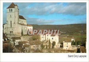 Moderne Karte Saint Cirq Lapopie Le Lot Touristique Ier Village de France entierement classe Monument Historiq