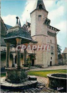 Moderne Karte Talcy (Loir et Cher) Les Merveilles du Val de Loire La premiere cour au Chateau du XVIe Siecle L