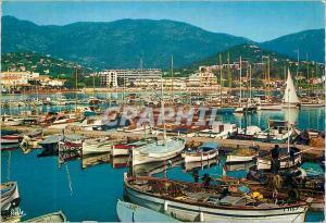 Moderne Karte Cavalaire sur Mer (Var) La Cote des Maures Le Port Bateaux