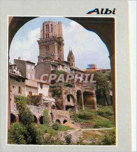 Moderne Karte Albi (Tarn) La Cathedrale et le Viaduc