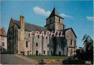 Moderne Karte Melle (Deux Sevres) Eglise Saint Savien (Mon His) (XIe Siecle) Clocher Roman remanie en 1466