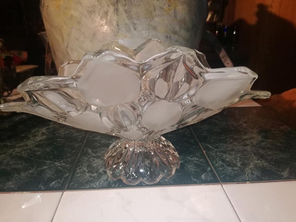 Bleikristall Schale 0