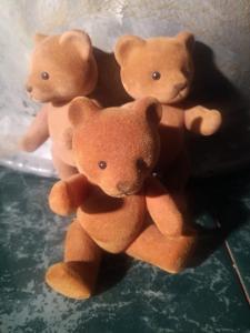 Drei Gold -Bären