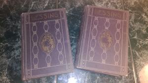 Lessing\'s Werke Leihbüchereidruck, 6 Bände in 2 Bänden