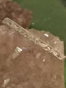 Stabbrosche 835er Silber