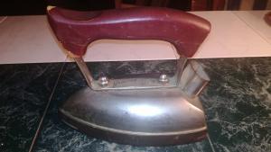 Vintage Bügeleisen Marke Grossag